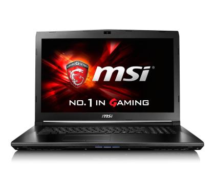 MSI GL72 i5-6300HQ/4GB/1TB GF940MX FHD-339796 - Zdjęcie 2