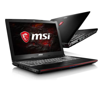 MSI GP62 Leopard Pro i7-7700HQ/8GB/1TB GTX1050Ti-348419 - Zdjęcie 1