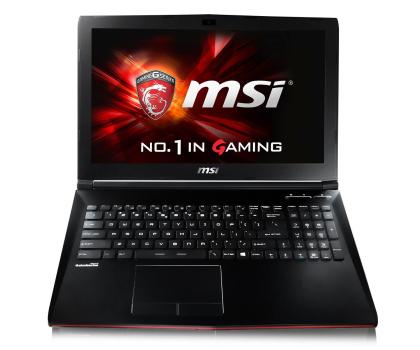 MSI GP62 Leopard Pro i7-7700HQ/8GB/1TB GTX1050Ti-348419 - Zdjęcie 2