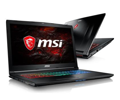 MSI GP72 i7-7700HQ/8GB/1TB GTX1050Ti-374422 - Zdjęcie 1