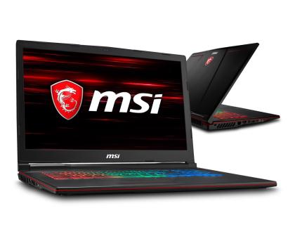 MSI GP73 i7-8750H/8GB/1TB GTX1060 -422292 - Zdjęcie 1