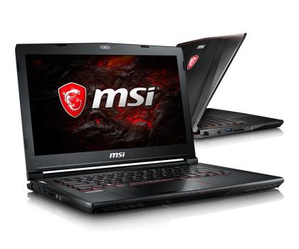 MSI GS43VR i7-7700HQ/16/1TB+128 GTX1060-342793 - Zdjęcie 1
