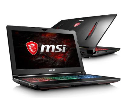 MSI GT62VR i7-7700HQ/8GB/1TB GTX1060 IPS-360449 - Zdjęcie 1