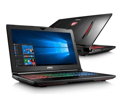 MSI GT62VR i7-7700HQ/8GB/1TB/Win10X GTX1060 IPS -399768 - Zdjęcie 1