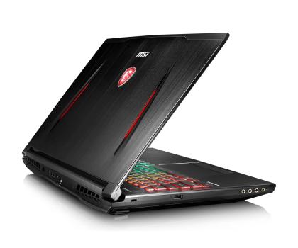 MSI GT62VR i7-7700HQ/8GB/1TB/Win10X GTX1060 IPS -399768 - Zdjęcie 3