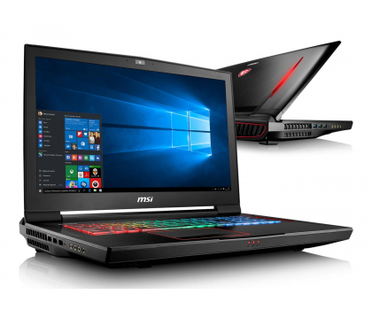 MSI GT73VR i7-7820HK/32/1TB+256PCIe/Win10 GTX1080 IPS-352394 - Zdjęcie 1
