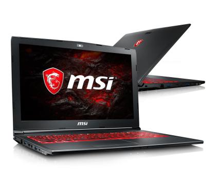 MSI GV62 i5-7300HQ/16GB/1TB+120SSD MX150 -375434 - Zdjęcie 1