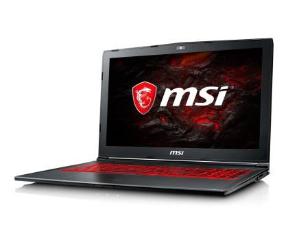 MSI GV62 i5-7300HQ/16GB/1TB+120SSD MX150 -375434 - Zdjęcie 2