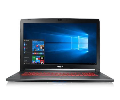 MSI GV72 i7-7700HQ/8GB/1TB/Win10X GTX1050Ti -393506 - Zdjęcie 2