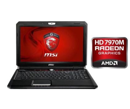 MSI GX60 1AC-035XPL A10-4600M/4GB/500/DVD-RW HD7970-120182 - Zdjęcie 1