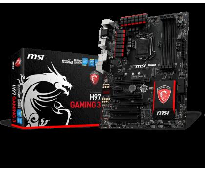 MSI H97 GAMING 3 (H97 2xPCI-E DDR3)-186022 - Zdjęcie 1