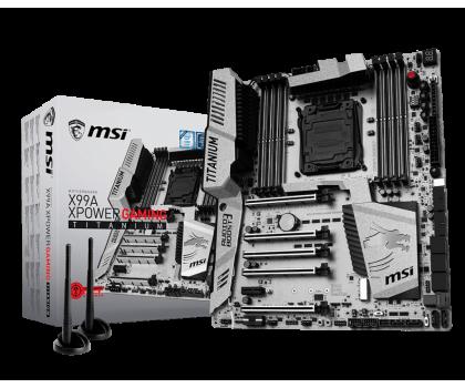 MSI X99A XPOWER GAMING TITANIUM (X99 5xPCI-E DDR4)-319661 - Zdjęcie 1