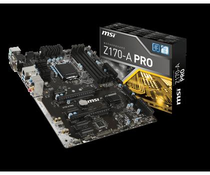 MSI Z170-A PRO (2xPCI-E DDR4)-265665 - Zdjęcie 1