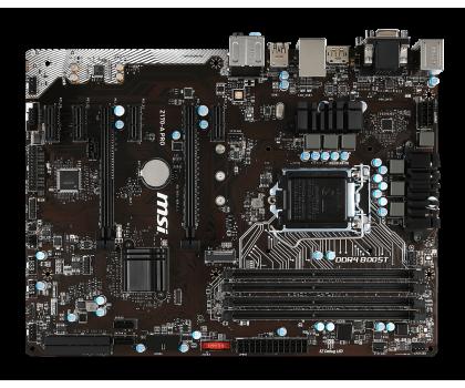 MSI Z170-A PRO (2xPCI-E DDR4)-265665 - Zdjęcie 2