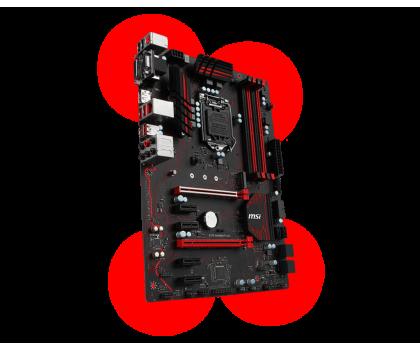 MSI Z270 GAMING PLUS + i7-7700K + Crucial 16GB 2400MHz-391650 - Zdjęcie 5
