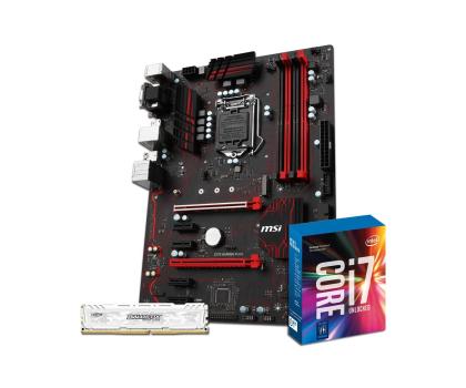 MSI Z270 GAMING PLUS + i7-7700K + Crucial 8GB 2400MHz -391648 - Zdjęcie 1