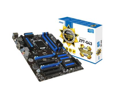 MSI Z97-G43 (Z97 2xPCI-E DDR3)-186135 - Zdjęcie 1