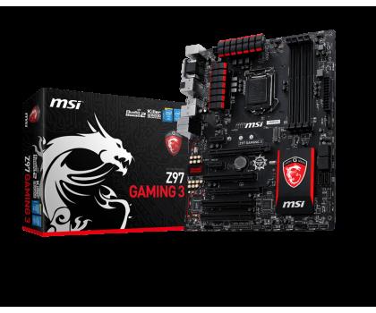 MSI Z97 GAMING 3 (Z97 2xPCI-E DDR3)-186013 - Zdjęcie 1