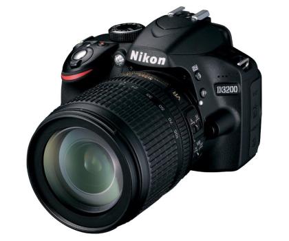 Nikon D3200 czarny +AF-S DX VR 18-105-118162 - Zdjęcie 1