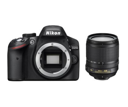 Nikon D3200 czarny +AF-S DX VR 18-105-118162 - Zdjęcie 2