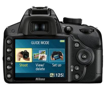 Nikon D3200 czarny +AF-S DX VR 18-105-118162 - Zdjęcie 3