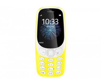 Nokia 3310 Dual SIM żółty-362997 - Zdjęcie 2