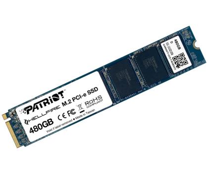 Patriot 480GB M.2 SSD PCIe Hellfire 2280 -323168 - Zdjęcie 2