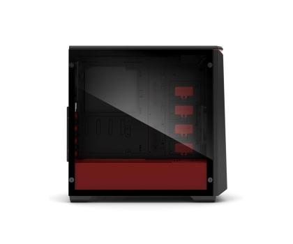 Phanteks Eclipse P400S Tempered Glass (czarny/czerwony)-411811 - Zdjęcie 6