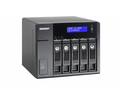 QNAP UX-500P Moduł rozszerzający (5xHDD, USB 3.0)-367042 - Zdjęcie 2