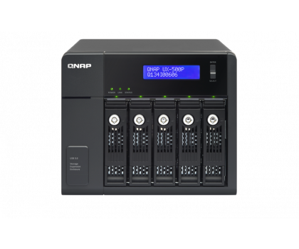 QNAP UX-500P Moduł rozszerzający (5xHDD, USB 3.0)-367042 - Zdjęcie 3