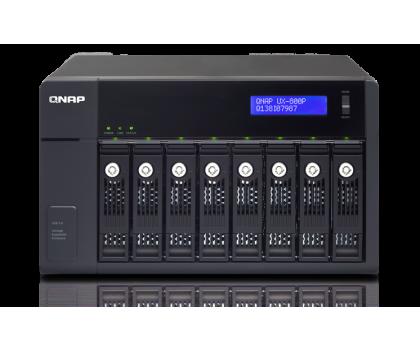 QNAP UX-800P Moduł rozszerzający (8xHDD, USB 3.0)-367044 - Zdjęcie 3