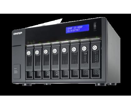 QNAP UX-800P Moduł rozszerzający (8xHDD, USB 3.0)-367044 - Zdjęcie 5