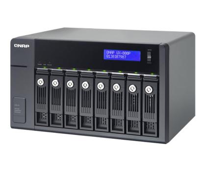 QNAP UX-800P Moduł rozszerzający (8xHDD, USB 3.0)-367044 - Zdjęcie 1