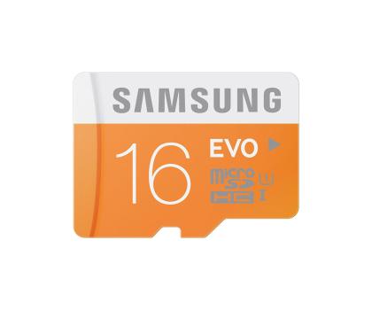 Samsung 16GB microSDHC Evo odczyt 48MB/s + adapter SD-182044 - Zdjęcie 3