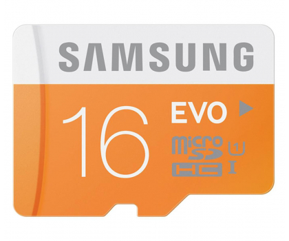 Samsung 16GB microSDHC Evo odczyt 48MB/s + adapter SD-182044 - Zdjęcie 1