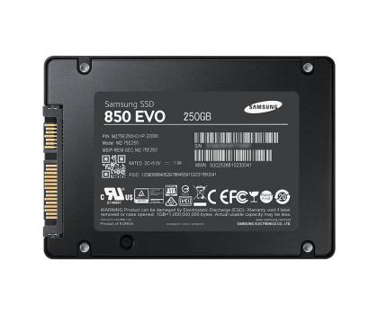 Samsung 250GB 2,5'' SATA SSD Seria 850 EVO-216483 - Zdjęcie 2