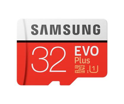 Samsung 32GB microSDHC Evo Plus zapis20MB/s odczyt95MB/s -360783 - Zdjęcie 1