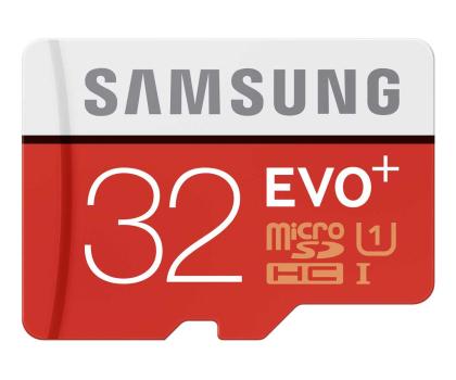 Samsung 32GB microSDHC Evo+ zapis 20MB/s odczyt 80MB/s -241031 - Zdjęcie 1