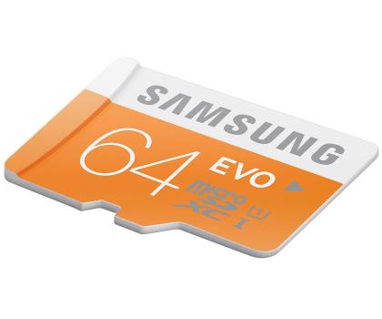 Samsung 64GB microSDXC Evo odczyt 48MB/s + adapter SD-182050 - Zdjęcie 5