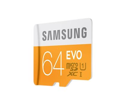 Samsung 64GB microSDXC Evo odczyt 48MB/s + czytnik USB 2.0-349184 - Zdjęcie 3
