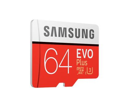 Samsung 64GB microSDXC Evo Plus zapis60MB/s odczyt100MB/s -360784 - Zdjęcie 2