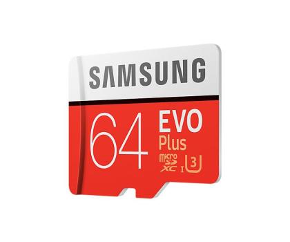 Samsung 64GB microSDXC Evo Plus zapis60MB/s odczyt100MB/s -360784 - Zdjęcie 4