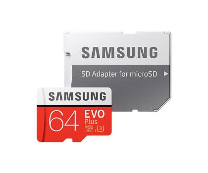 Samsung 64GB microSDXC Evo Plus zapis60MB/s odczyt100MB/s -360784 - Zdjęcie 3