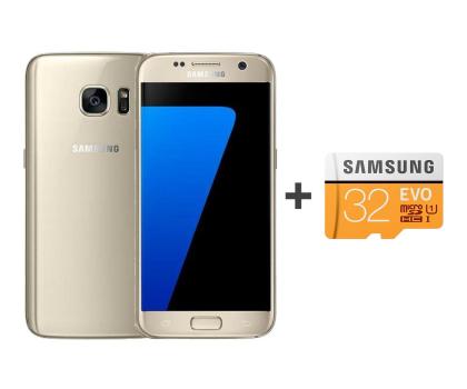 Samsung Galaxy S7 G930F 32GB złoty + 32GB-392907 - Zdjęcie 1