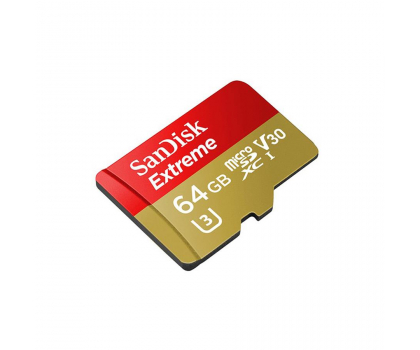 SanDisk 64GB microSDXC Extreme zapis 60MB/s odczyt 90MB/s-329038 - Zdjęcie 3