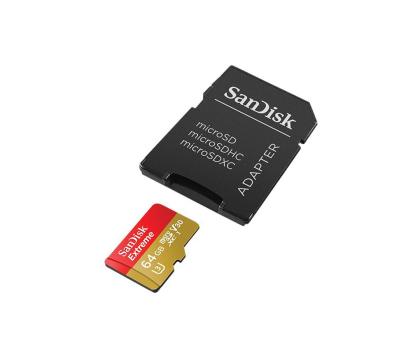 SanDisk 64GB microSDXC Extreme zapis 60MB/s odczyt 90MB/s-329038 - Zdjęcie 4