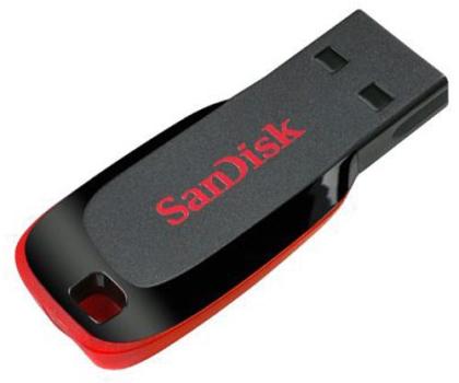 SanDisk 8GB Cruzer Blade (czarny)-59826 - Zdjęcie 1