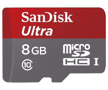 SanDisk 8GB microSDHC Ultra Android Class10 48MB/s-208132 - Zdjęcie 2