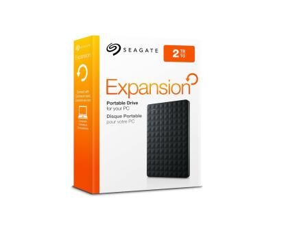Seagate 2TB Expansion Portable 2,5'' czarny USB 3.0-236497 - Zdjęcie 4