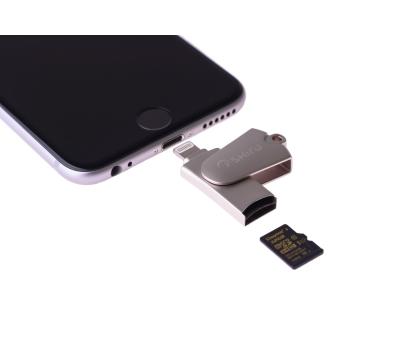 SHIRU Czytnik kart microSD - Lightning do iPhone / iPad-349515 - Zdjęcie 4